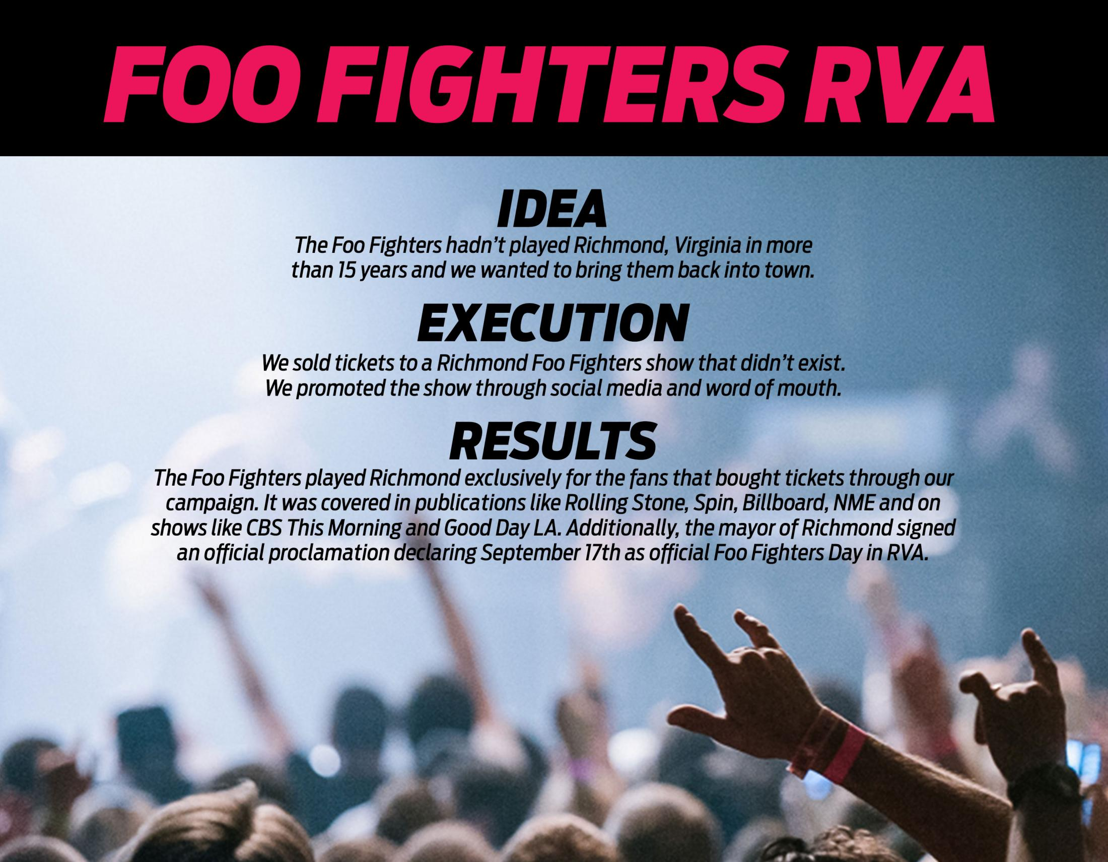 Thumbnail for Foo Fighters RVA