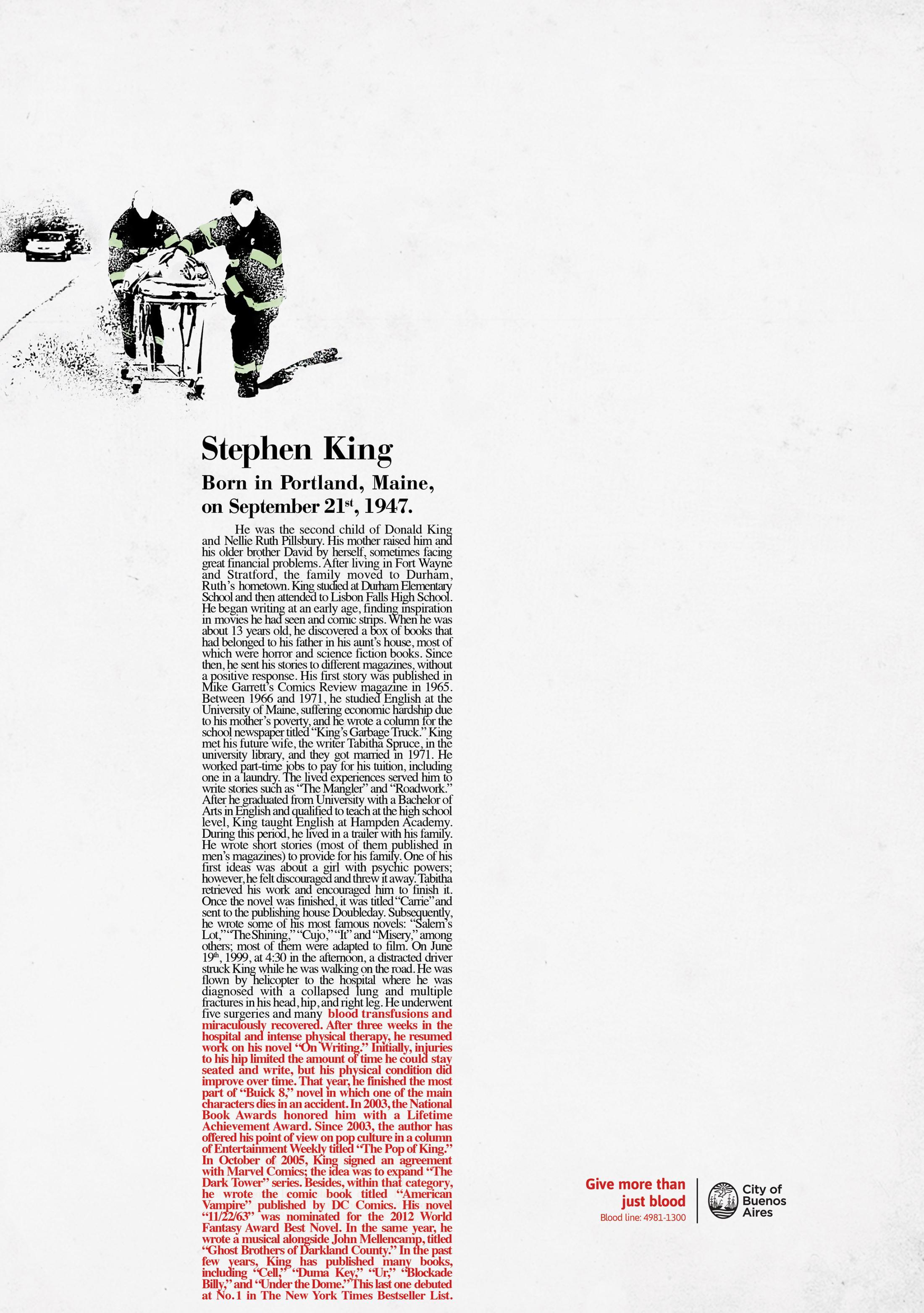 Thumbnail for Stephen King