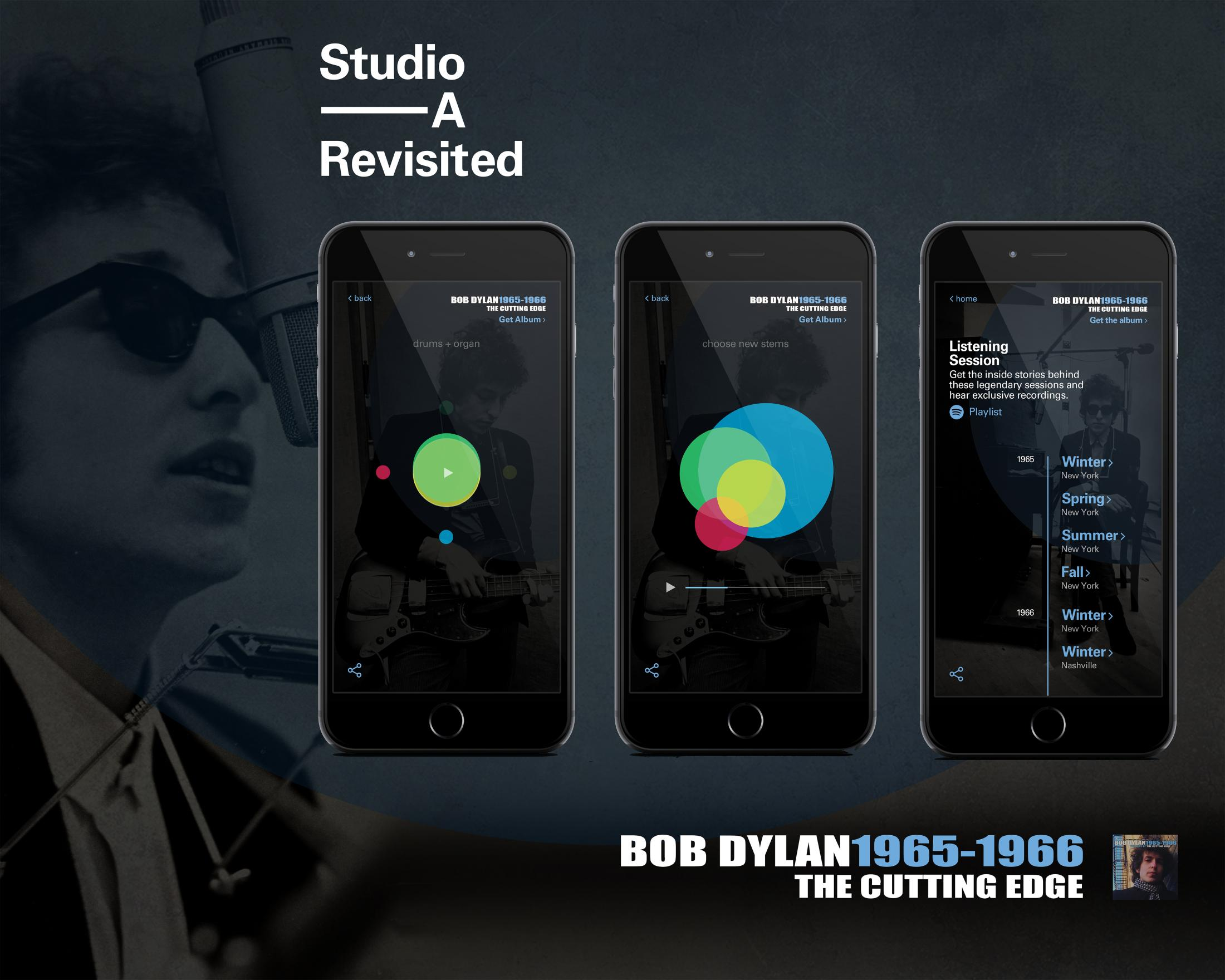 Image Media for Bob Dylan: Studio A Revisited