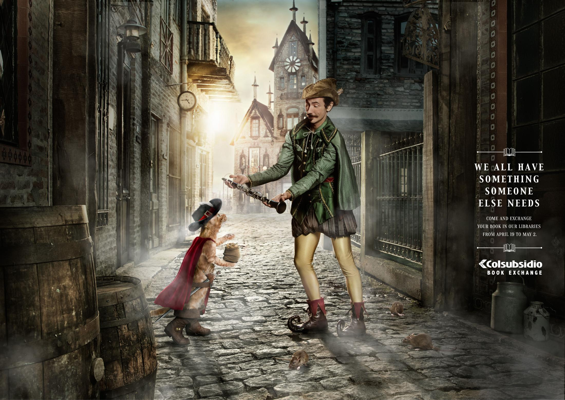 Thumbnail for Exchanges - Puss in Boots/The Pied Piper of Hamelin
