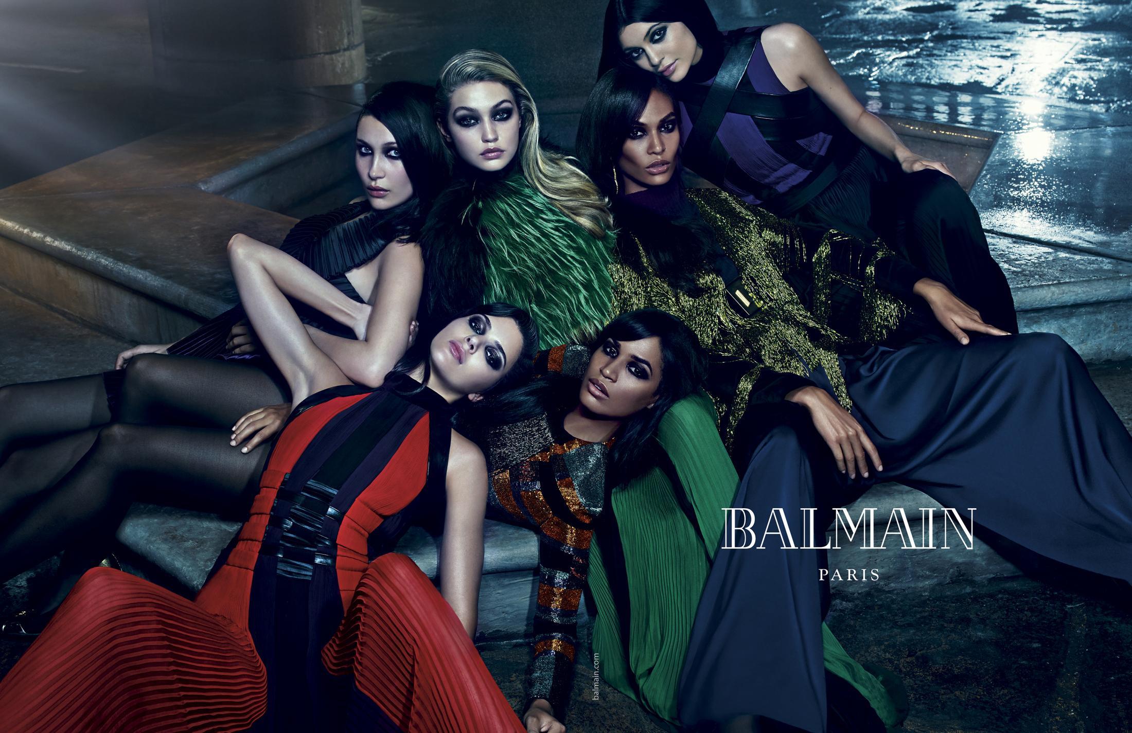 Thumbnail for Balmain Fall/Winter 2015