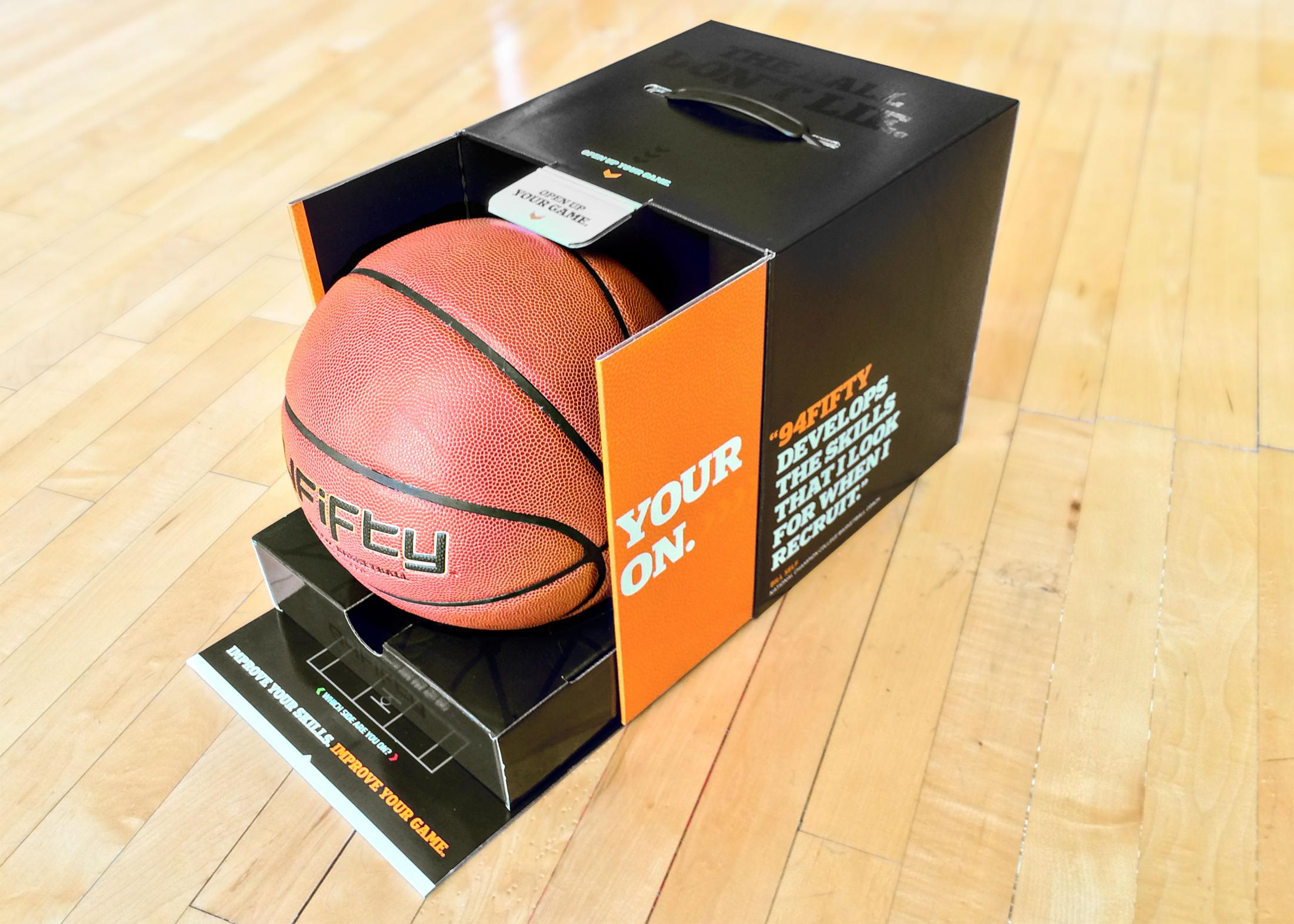Thumbnail for 94Fifty Smart Sensor Basketball Packaging Experience
