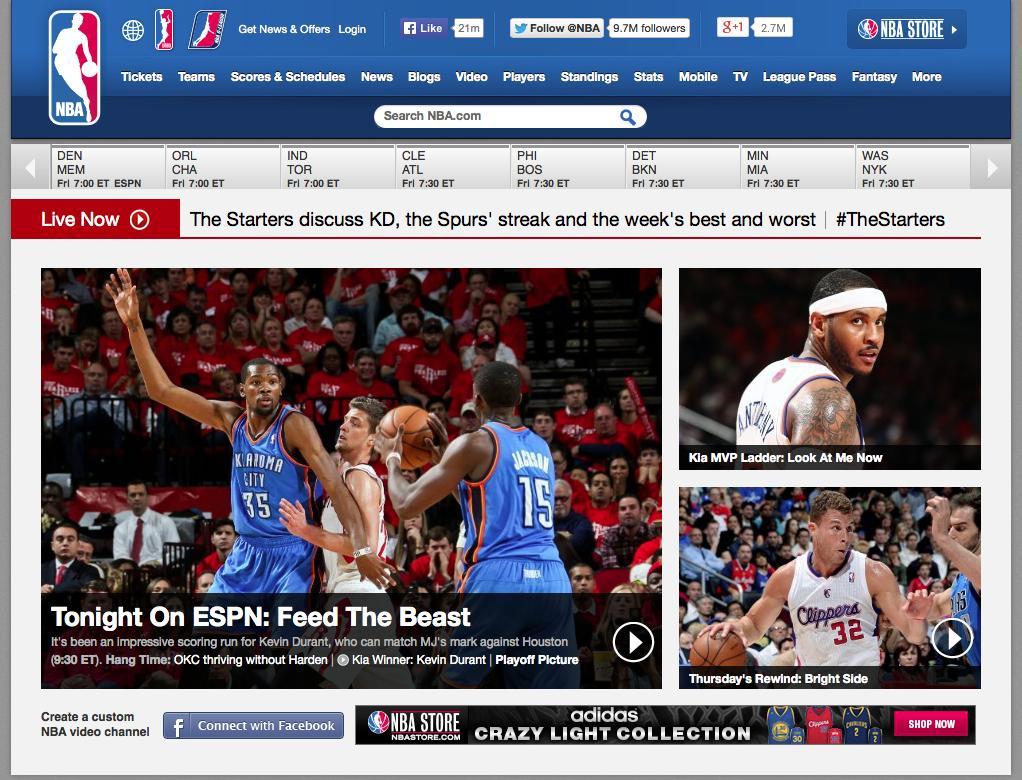 Thumbnail for NBA.com