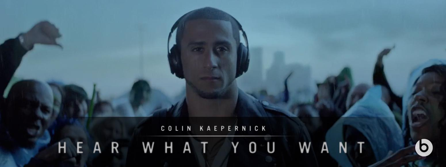 Thumbnail for Beats by Dr. Dre - Hear What You Want - Colin Kaepernick