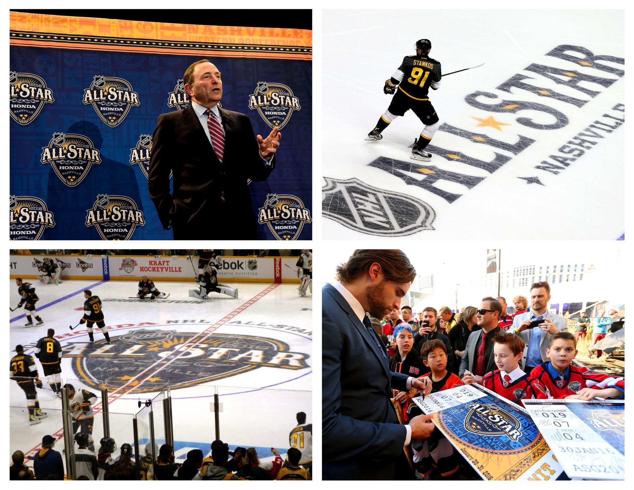 Thumbnail for NHL All-Star Brand Identity