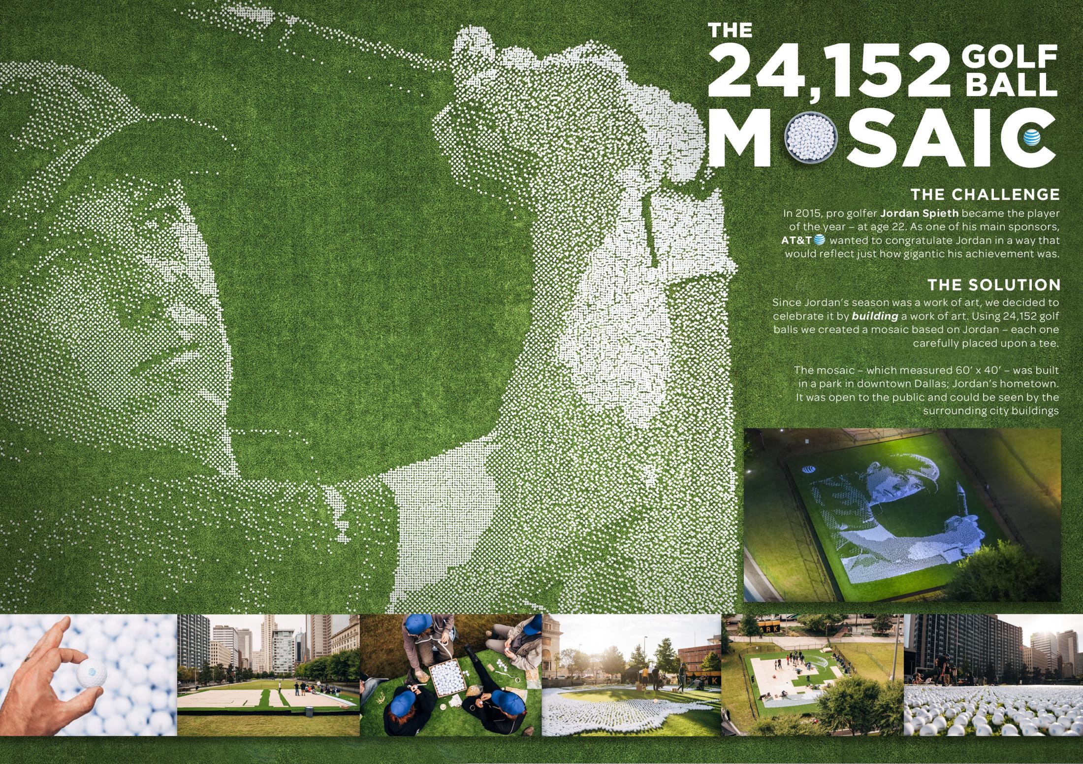 Thumbnail for The 24,152 Golf Ball Mosaic