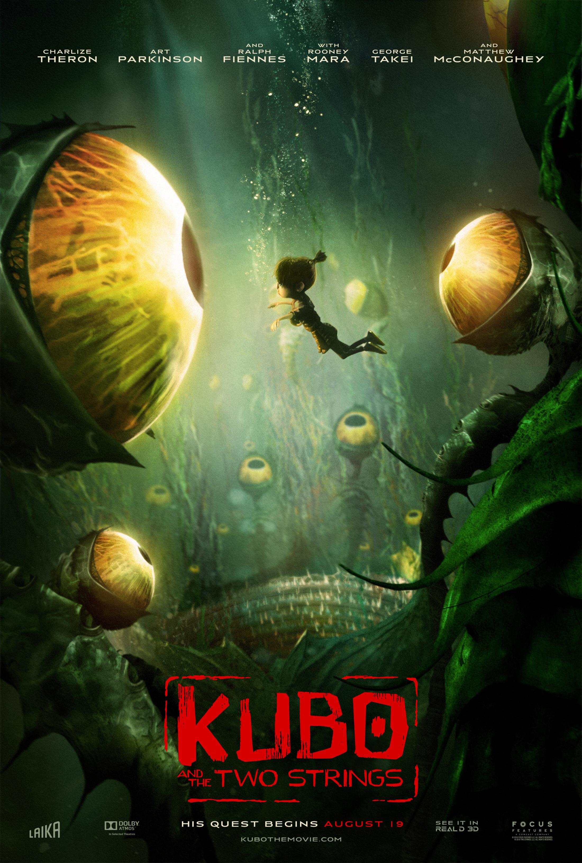 Thumbnail for Kubo and the Two Strings: Garden of Eyes Digital One-Sheet