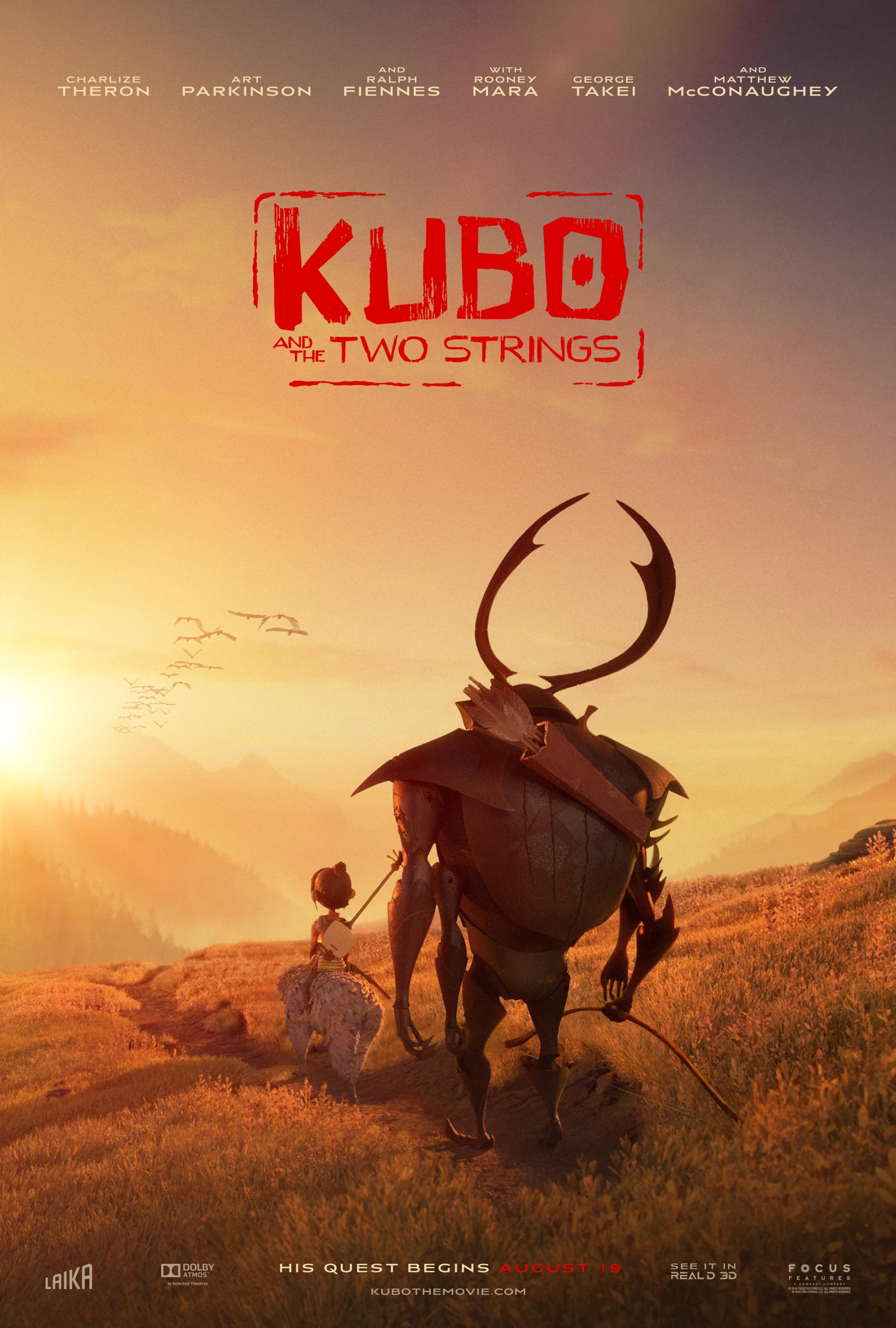 Thumbnail for Kubo and the Two Strings: Prairie Digital One-Sheet
