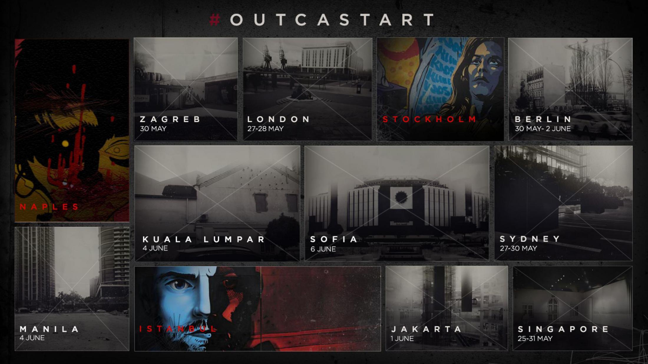 Thumbnail for Outcast Art