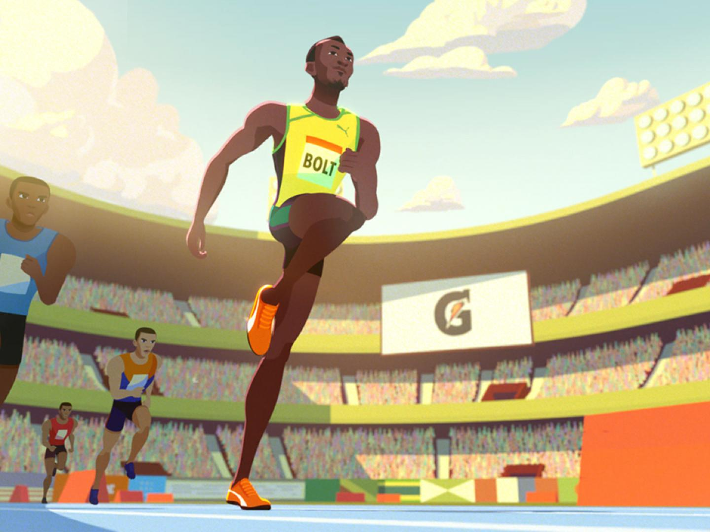 Usain Bolt | The Boy Who Learned to Fly | Gatorade Thumbnail