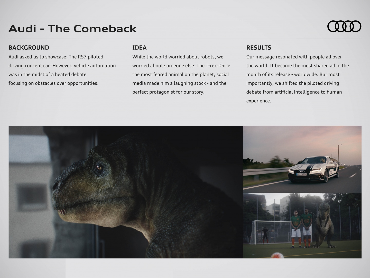 Audi - The Comeback Thumbnail