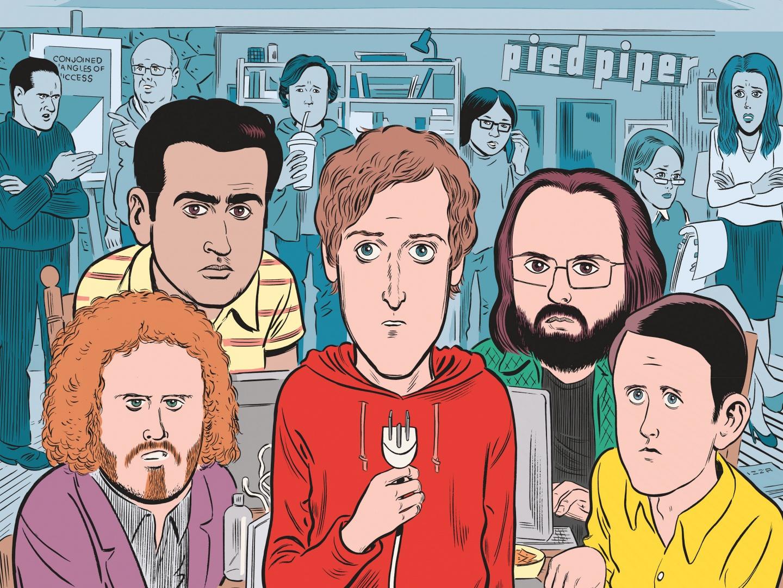 Silicon Valley Season 4 Key Art Thumbnail