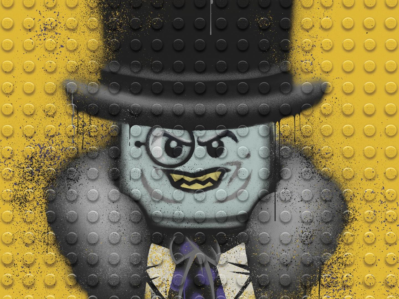 Image for The LEGO Batman Movie - Graffiti Wild Postings | Penguin