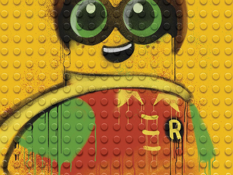 Image for The LEGO Batman Movie - Graffiti Wild Postings | Robin