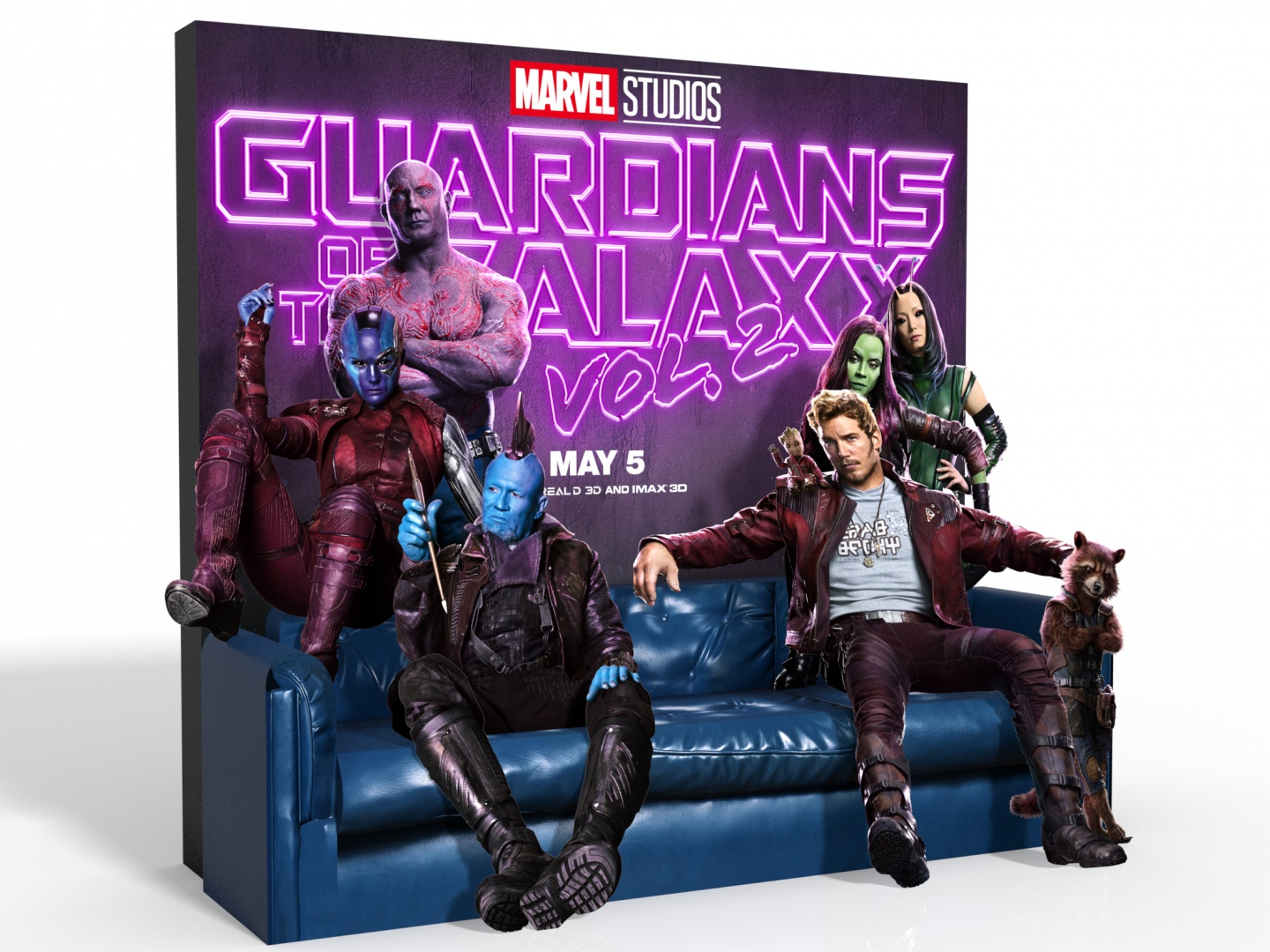 Guardians of the Galaxy Vol. 2 Theatrical Display Thumbnail