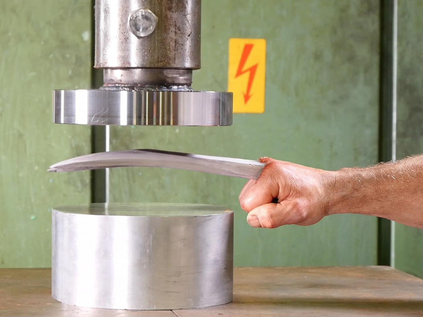 Crushing Adamantium with Hydraulic Press Thumbnail