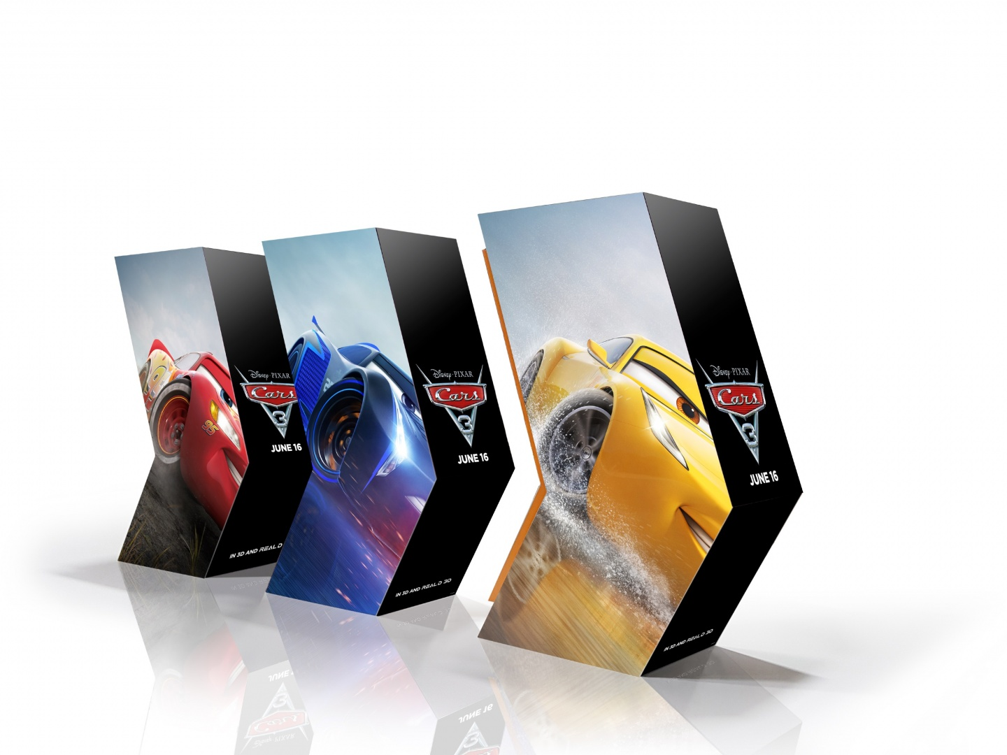 Cars 3 In-Theater Standee Thumbnail
