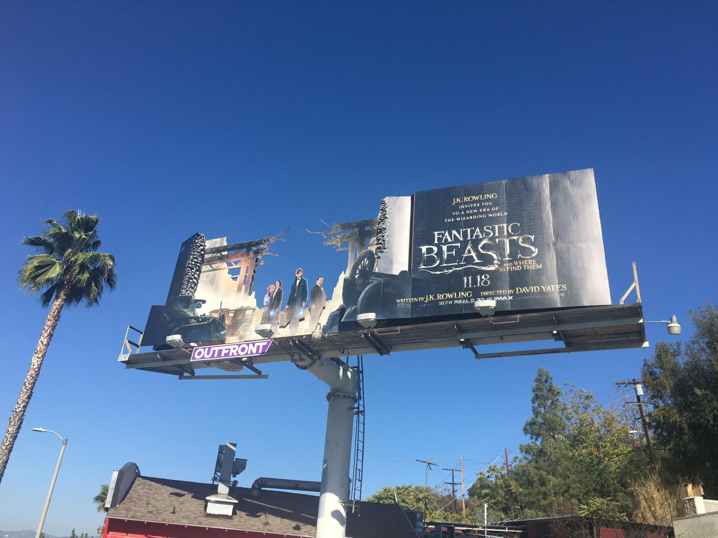 Fantastic Beasts and Where to Find Them, 3D Billboard Thumbnail