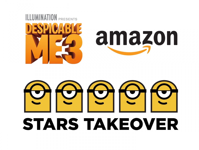 Despicable Me 3 - Amazon Stars Takeover  Thumbnail