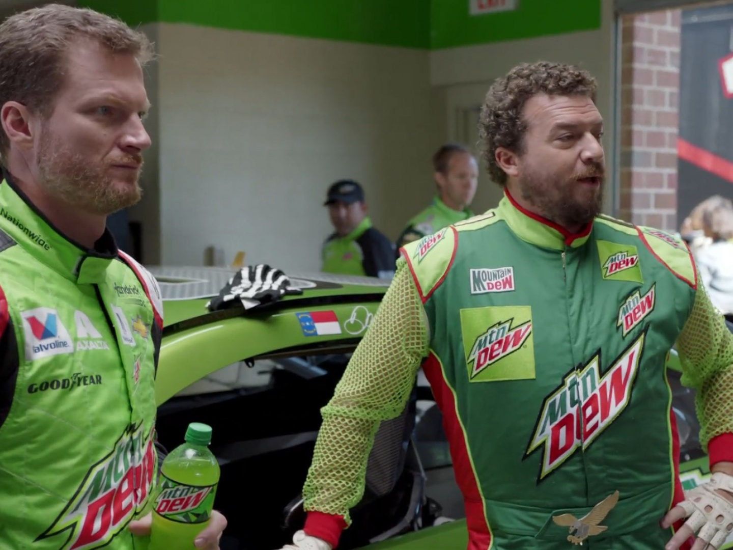 Dew's New Driver: ESPN Interview Thumbnail