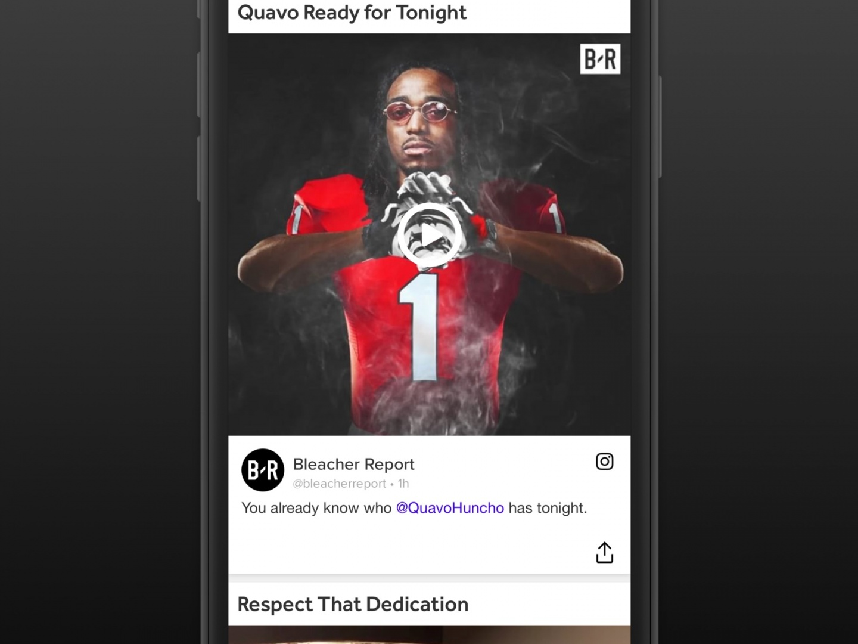 Bleacher Report App Thumbnail