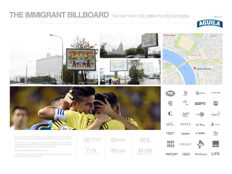 The Immigrant Billboard Thumbnail