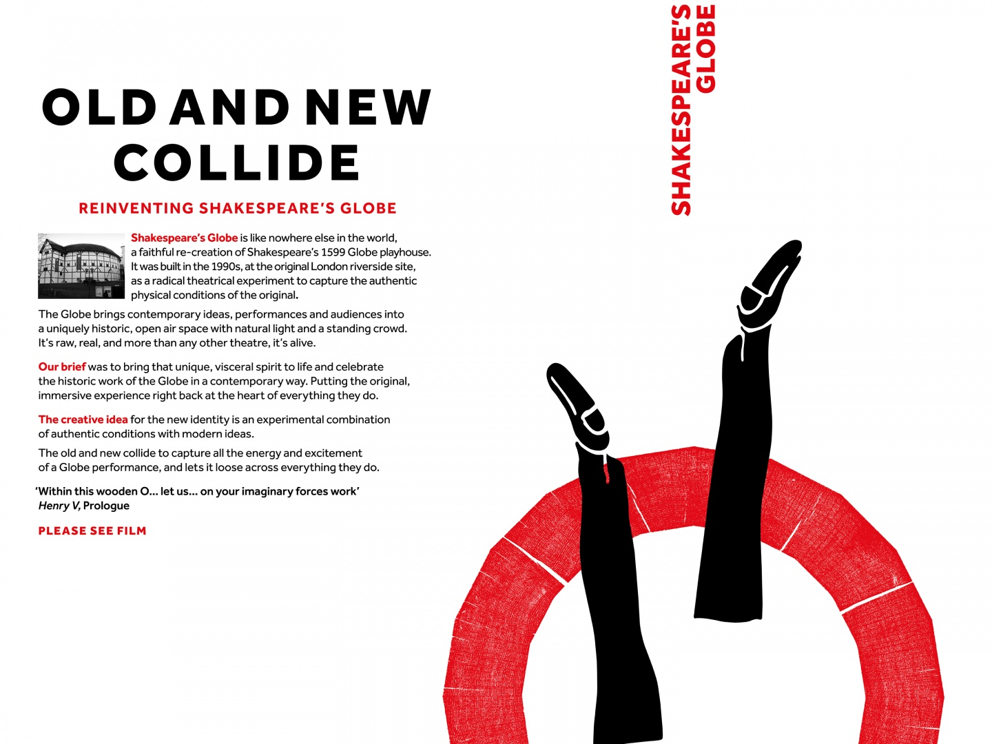 The Old and new Collide: Reinventing the Shakespeare's Globe Thumbnail