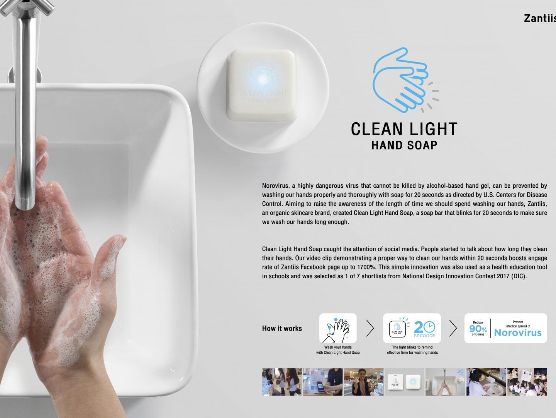Clean Light Hand Soap Thumbnail