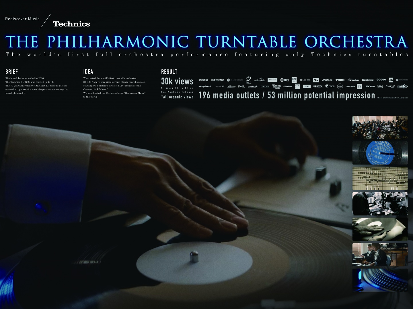 THE PHILHARMONIC TURNTABLE ORCHESTRA Thumbnail