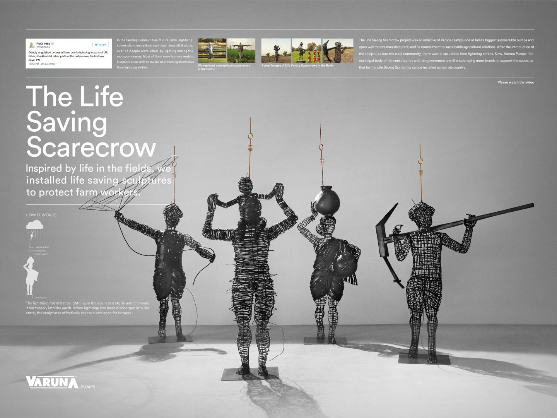 Life Saving Scarecrow Thumbnail