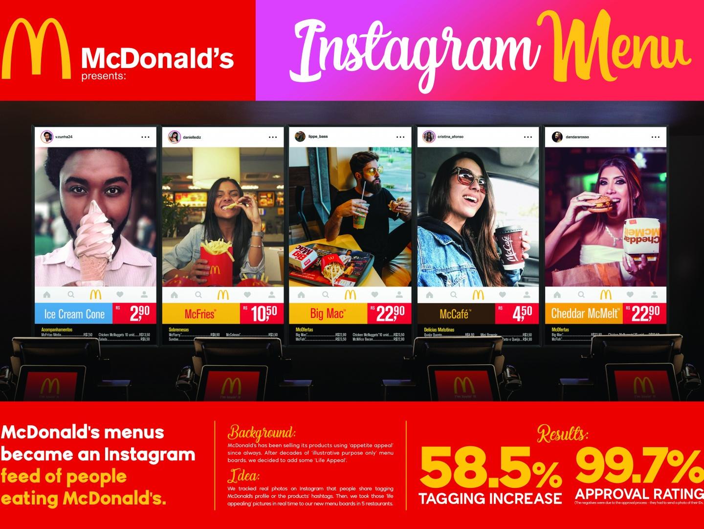 Instagram Menu  Thumbnail