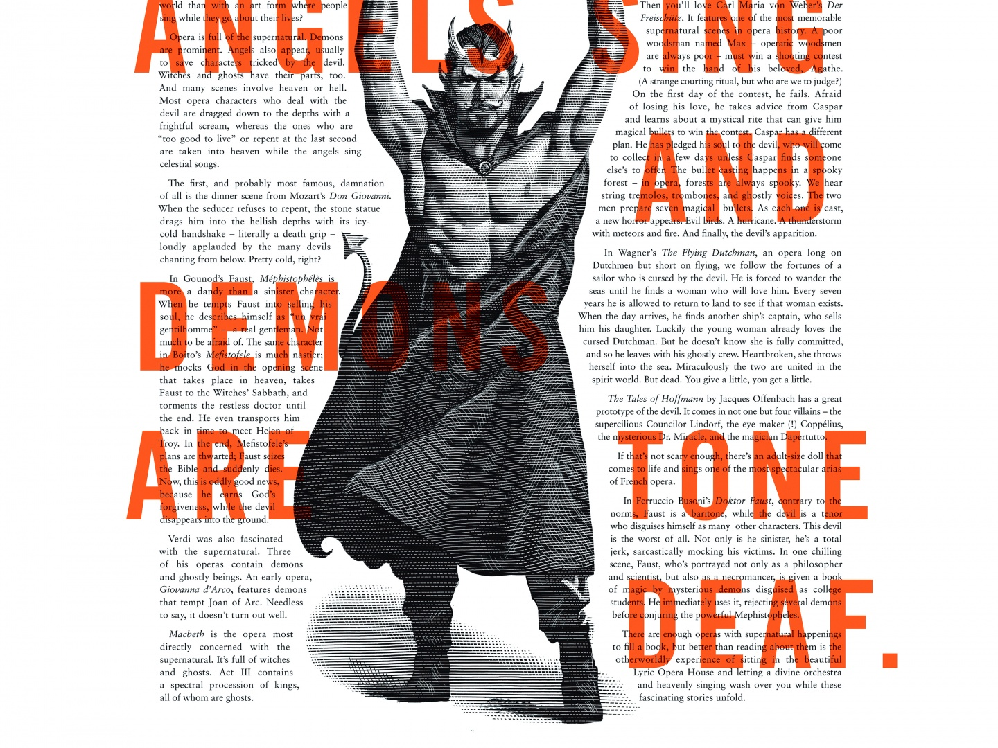 Lyric Opera Print Campaign: Angels and Demons Thumbnail