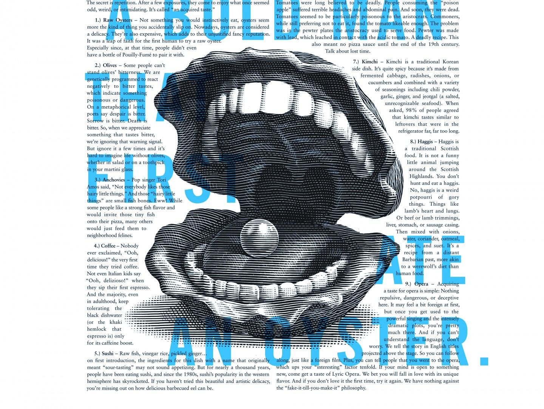Image for Lyric Opera Print Campaign: Bold Man