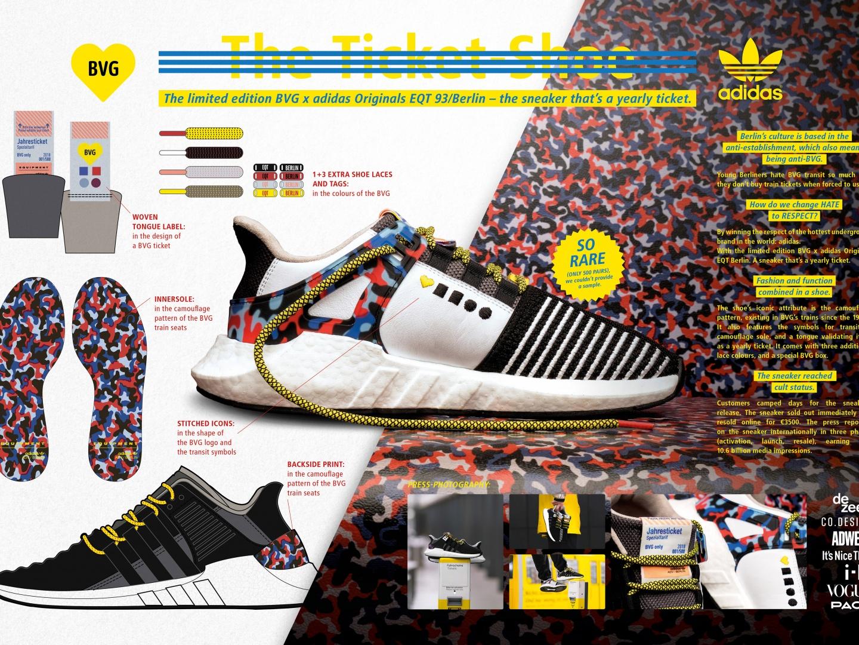 BVG x adidas – The ticket-shoe Thumbnail