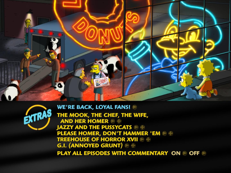 The Simpsons, Season 18 Thumbnail