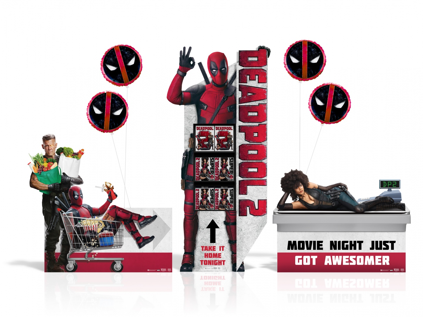 Image for DEADPOOL 2 Home Entertainment Display: SSM Event