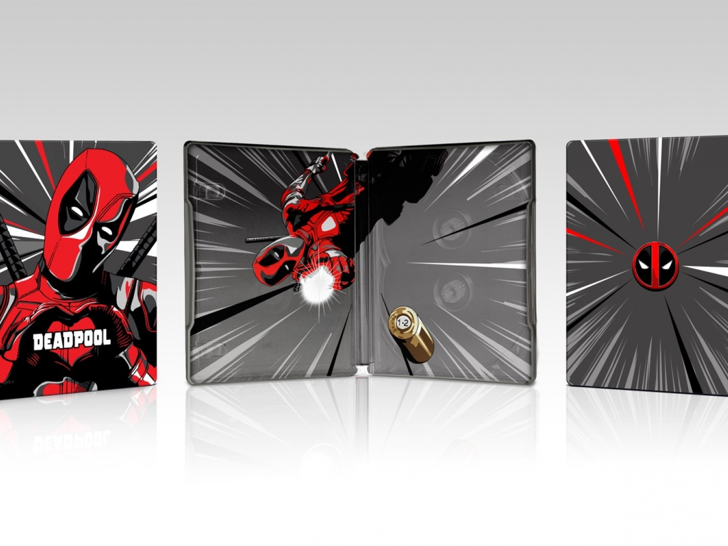Deadpool Steelbook Thumbnail