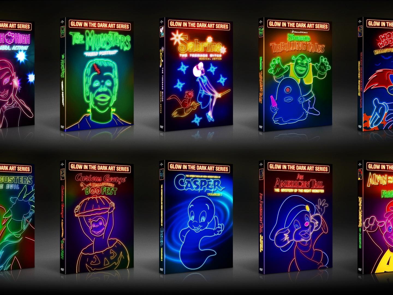 Glow in the Dark Art Packaging Series Thumbnail