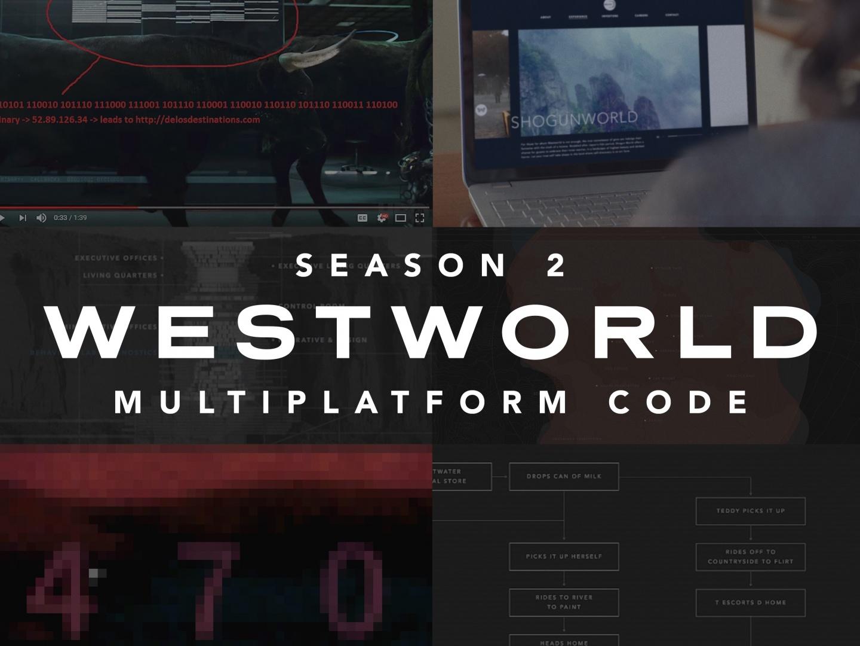 Westworld Season 2 Code Campaign  Thumbnail