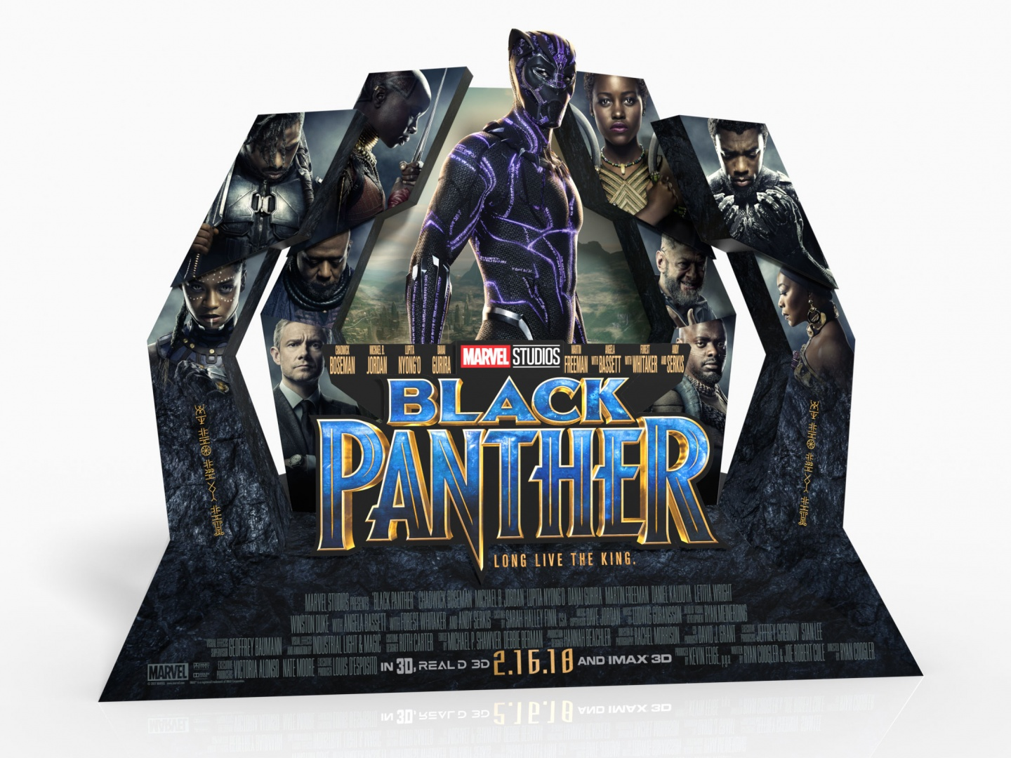 Black Panther In-Theatre Standee Thumbnail