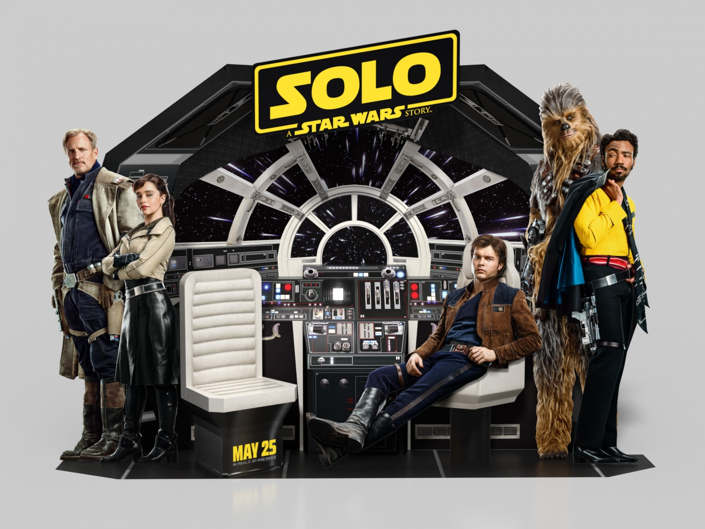 Solo: A Star Wars Story In-Theatre Standee Thumbnail