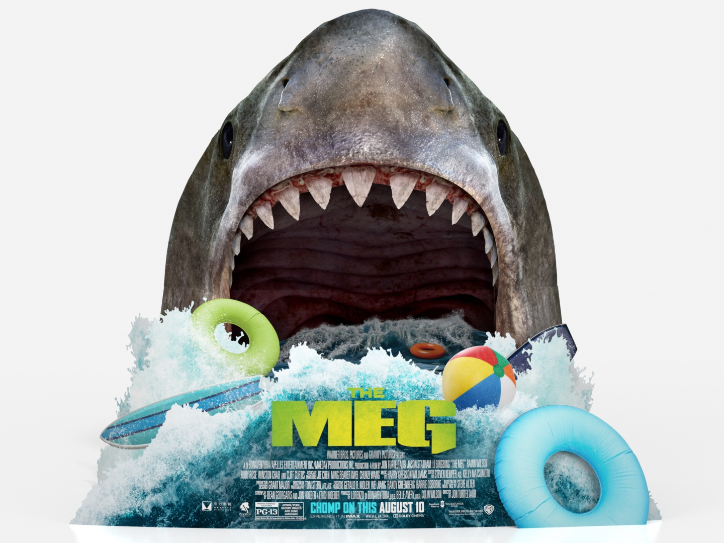 The Meg In-Theatre Standee Thumbnail