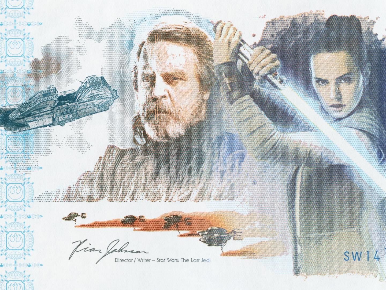 The Star Wars: The Last Jedi Commemorative Note Thumbnail