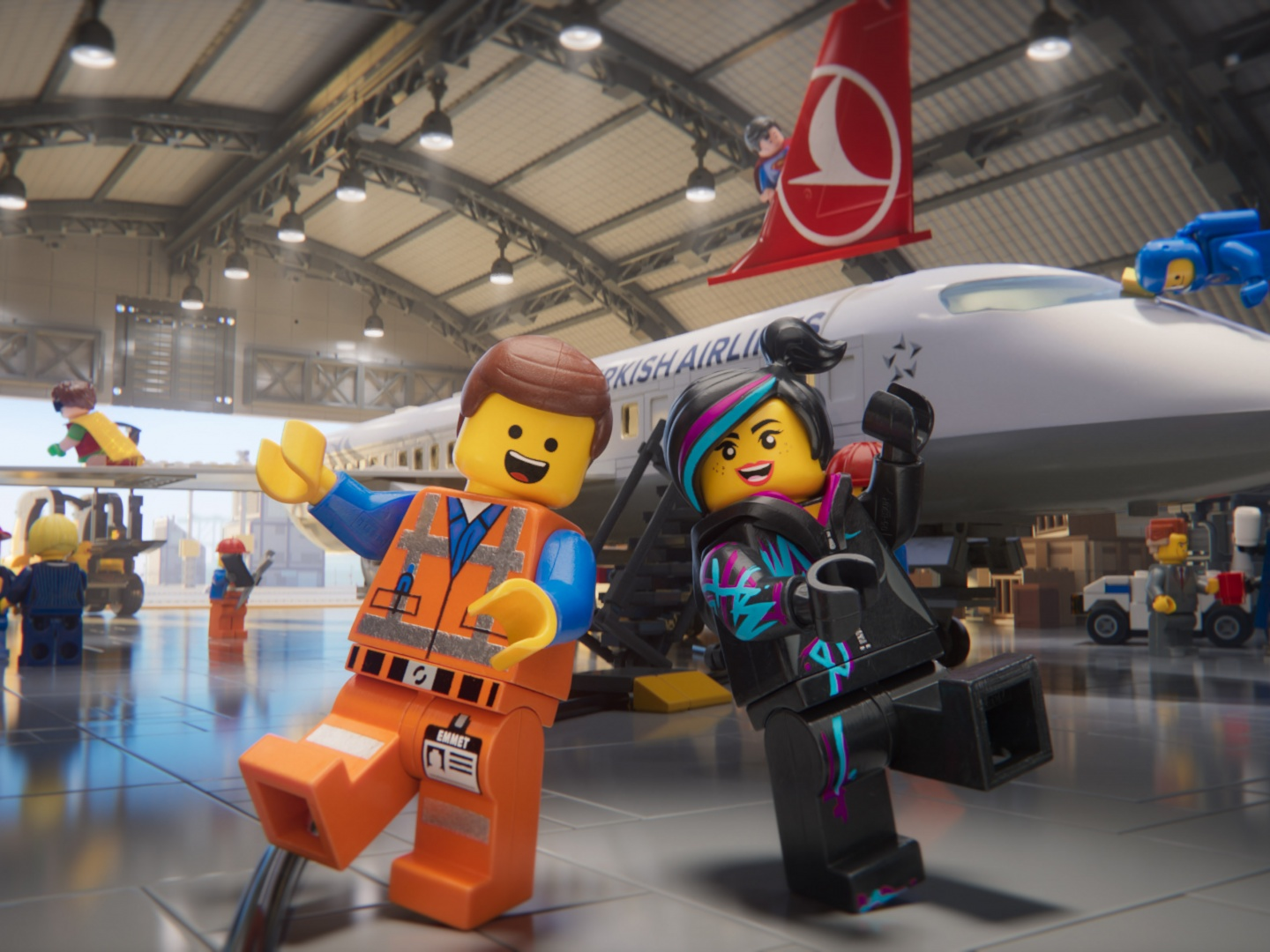 The LEGO Movie 2/Turkish Airlines Safety Video Thumbnail