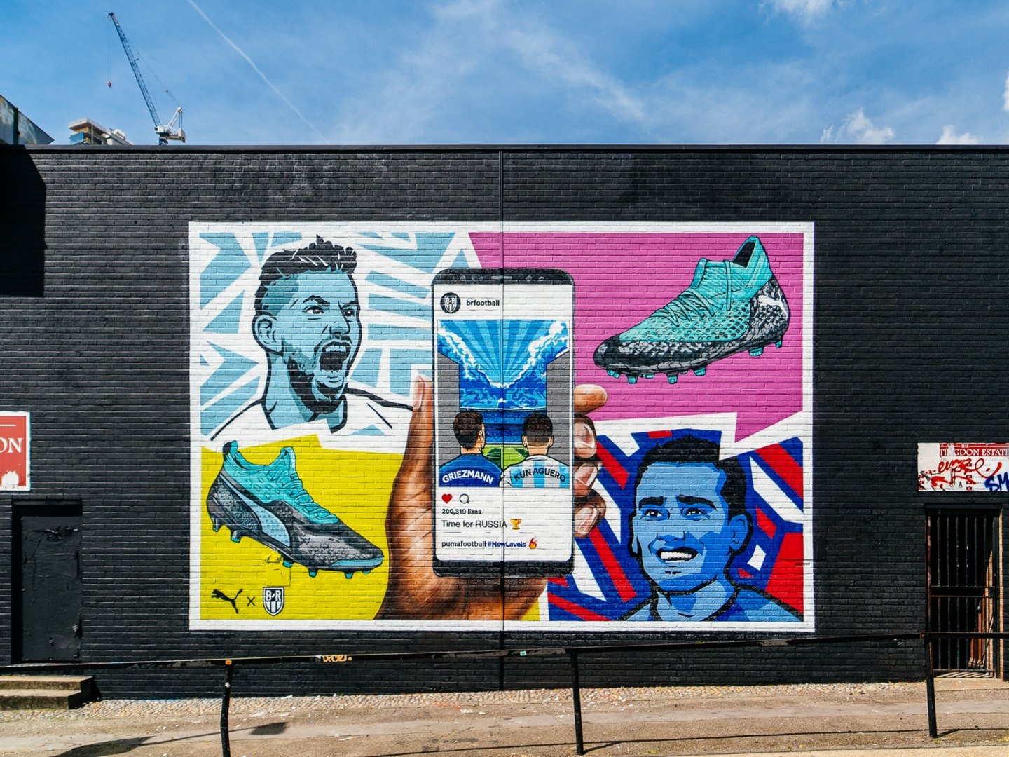 Puma (UK) x B/R Football - Interactive Football Murals Thumbnail