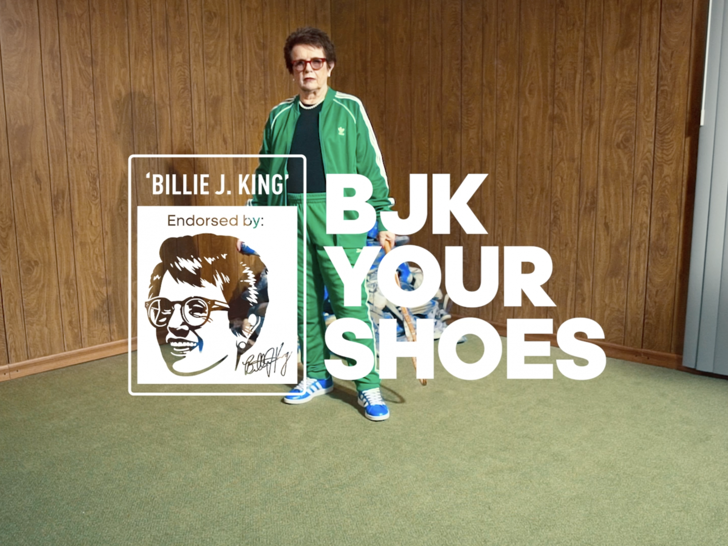 Billie Jean King Your Shoes Thumbnail