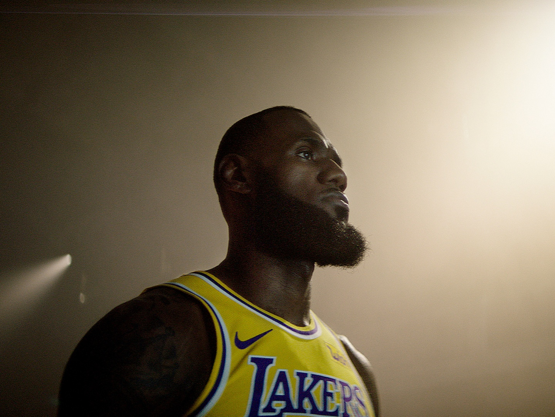 NBA2K LeBron Reveal Thumbnail