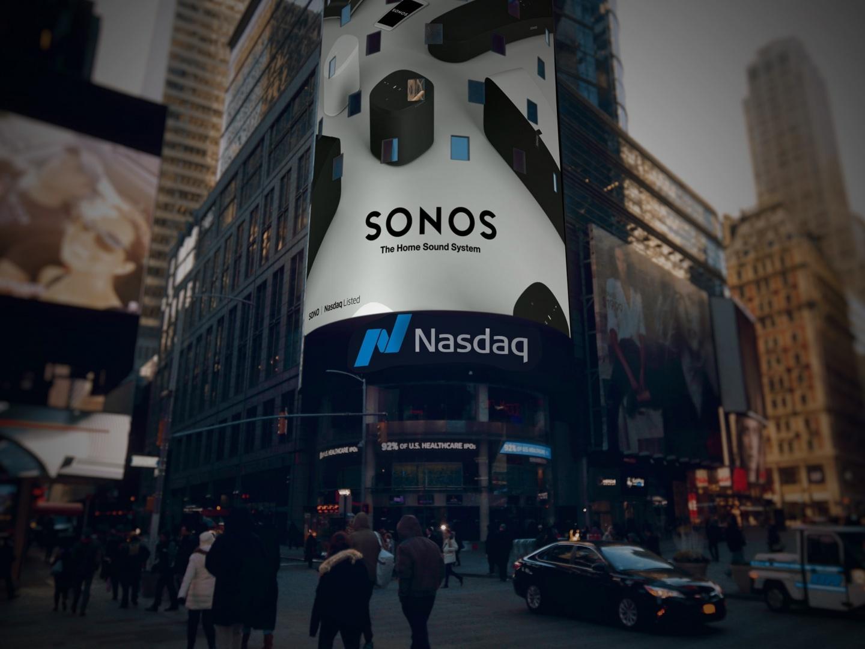Sonos Nasdaq Bell Thumbnail