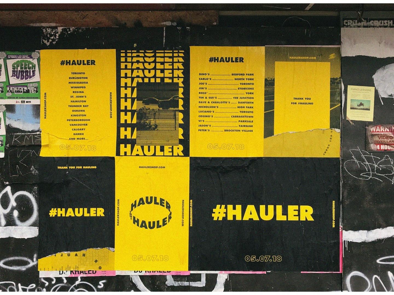 #Hauler Thumbnail
