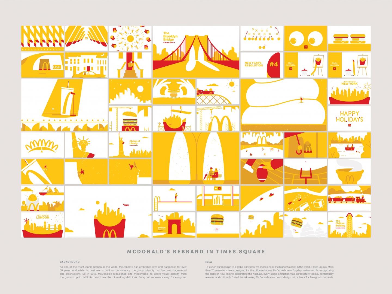 McDonald's Rebrand in Times Square Thumbnail